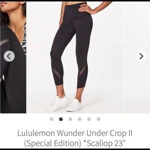 Lululemon Wunder Under Crop II (Special Edition)